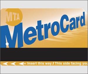 Metro card  NYC